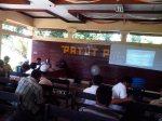 Suasana rapat pleno DPT pilgub NTB 2013 di Aula Kantor Camat Labuapi