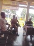 Sekretaris PPK Kecamatan Labuapi, Muaidi,S.Sos memberikan sambutan dalam rapat pleno penetapan DPT Pilgub NTB 2013
